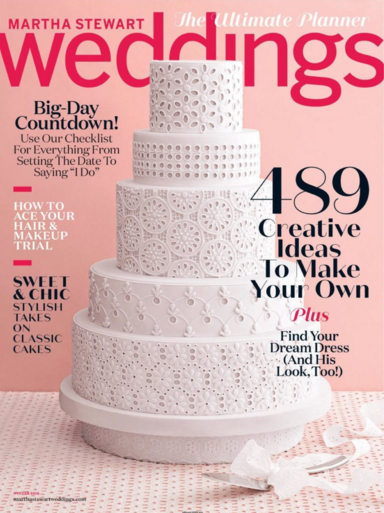 Wedding Singer - Martha Stewart Magazine