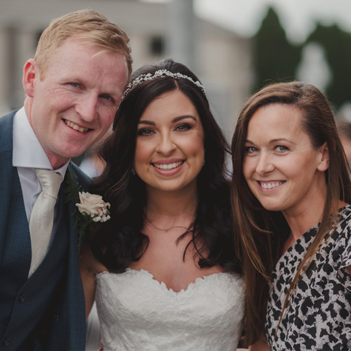 Fiona and David Wedding - Wedding Singer.ie