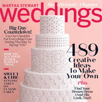 Martha Stewart Magazine - Wedding Singer.ie