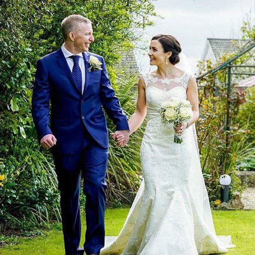 Caroline and Ken Wedding - Wedding Singer.ie