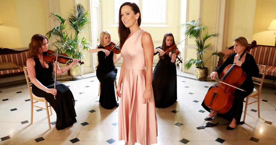 Maria Fitzgerald - String Quartet - WeddingSinger.ie