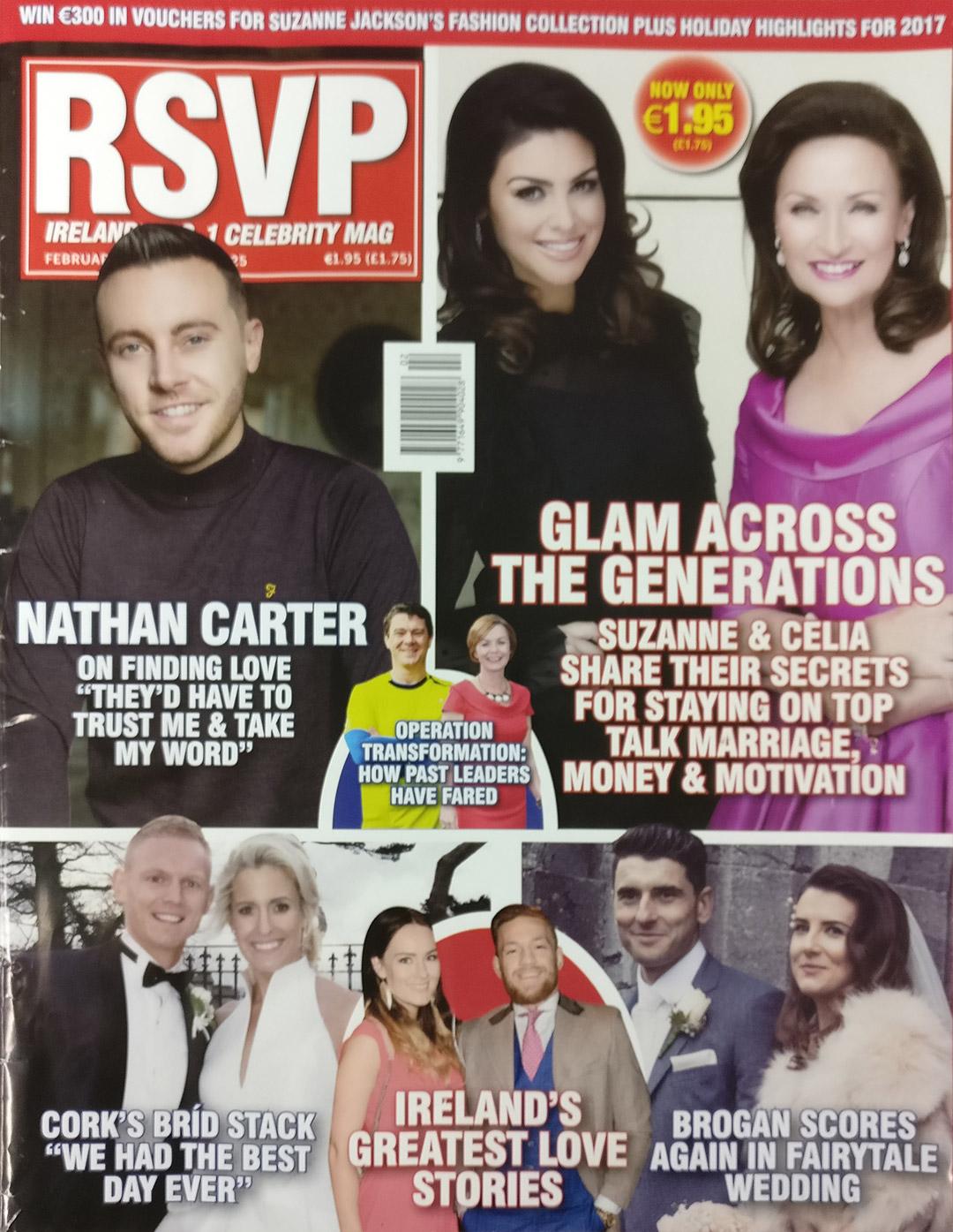 RSVP Magazine Cover - Wedding Singer.ie